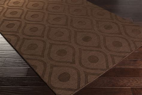 brown area rug artistic weavers central park zara awhp4002 brown area rug