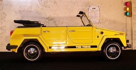 volkswagen thing 1974 cartype