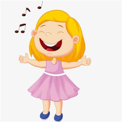 imagenes animadas riendose cantando chica chica de dibujos animados cantando chica