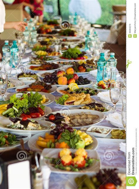 Festive food stock photo. Image of hungry, banquet, cheese