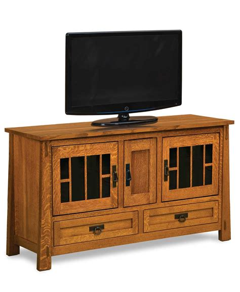 2 Door Tv Cabinet Modesto 3 Door 2 Drawer Media Tv Stand 36 Quot High Amish Direct Furniture