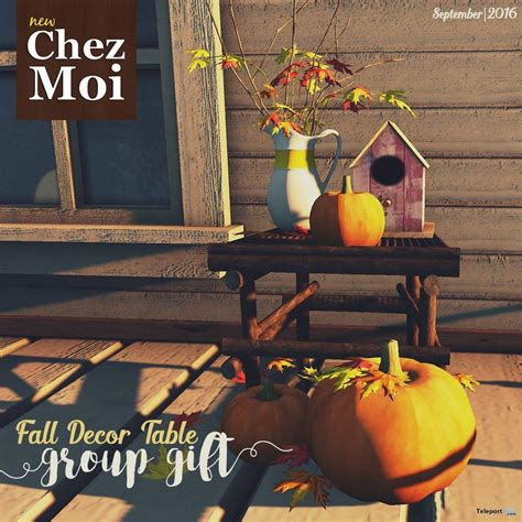 chez moi decorating your fall decor table september 2016 group gift by chez moi furniture teleport hub second life