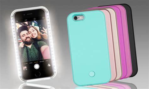 led light  selfie case  iphone    pluss  groupon