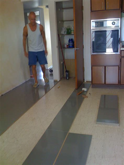 Kitchen Cabinet Transformation beautiful new flooring in the kitchen blooming rock