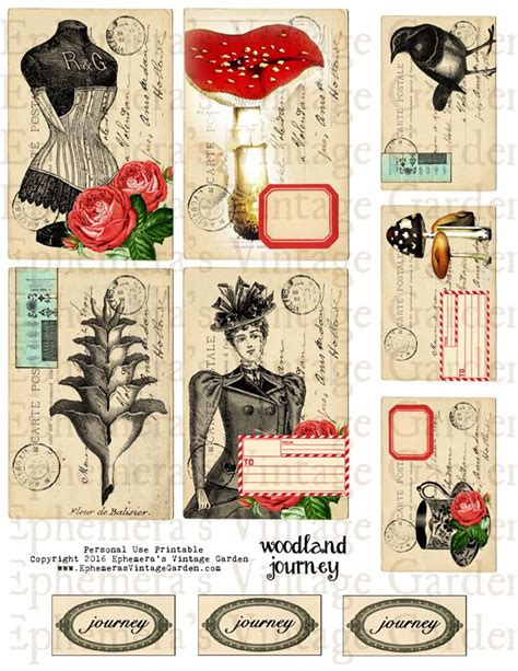 printable junk journal 909 best images about free images collage sheets and