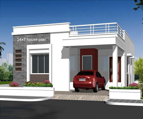750 square 2bhk free house plan
