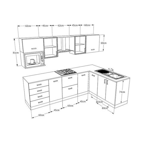modern cabinetry diensions
