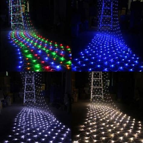 Outdoor Decorative Lighting Strings Led Net Light 220v 2m 3m 210leds String Net Light Waterproof Outdoor Decorative Lights