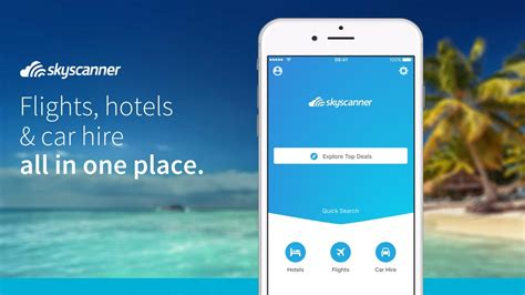 skyscanner app explore  world ios android youtube