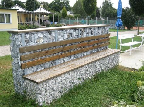 gabion bench 17 best images about gabions on pinterest wire mesh