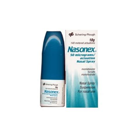 Mometasone Furoate Also Search For Nasonex Nasal Spray 50mcg 300 Doses