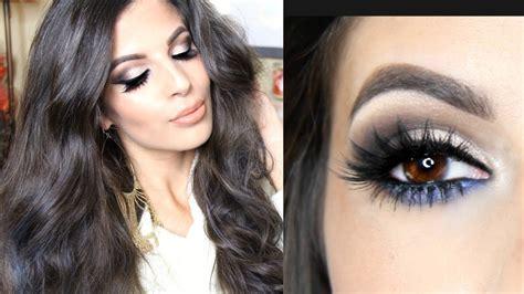 eyeshadow tutorial chocolate bar too faced semi sweet chocolate bar palette makeup tutorial
