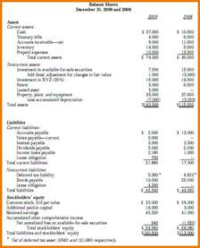 8 balance sheet income statement cash flow financial