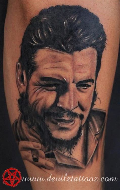 che guevara tattoo che guevara by lokesh tattoonow