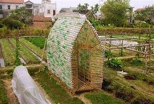how to build your own recycled plastic bottle greenhouse