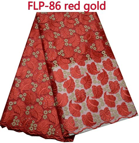 leaf pattern lace fabric new designs african lace red embroidered leaf pattern