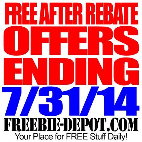 rebate free free after rebate expiring 7 31 14