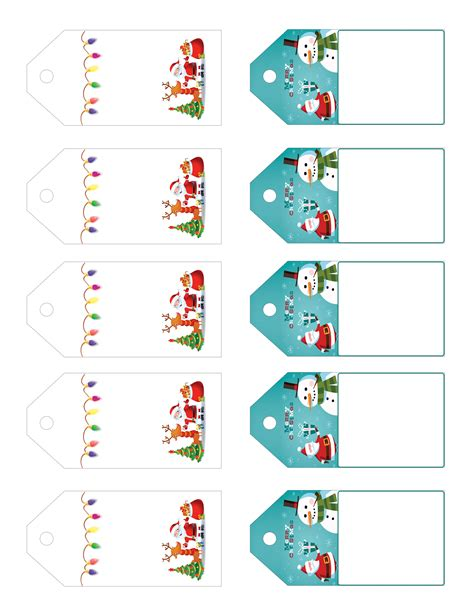 printable letter gift tags santa s little gift to you free printable gift tags and