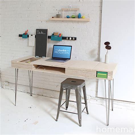 flip desk ikea home dzine home diy multi purpose flip up desk