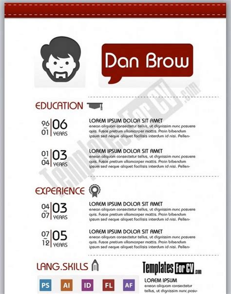 Download 35 Free Creative Resume Cv Templates Xdesigns Artist Resume Template Free