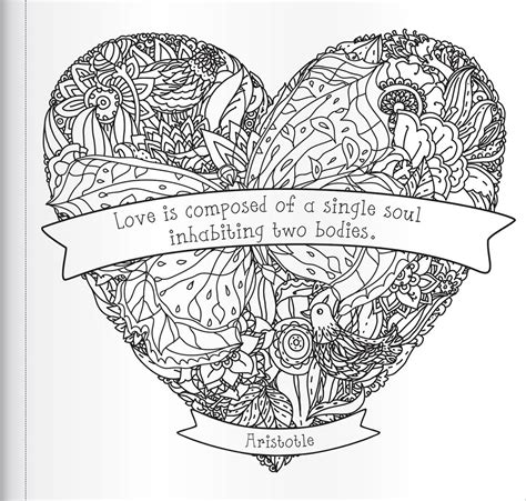 My Heart Is Like A Singing Bird Inspiring Quotes To Colour Books Adult Colouring Adults Colour In Pictures