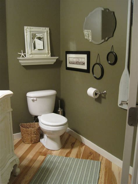 Bathroom Designs Green Paint Powder Room The Almost Afters The Inspired Room