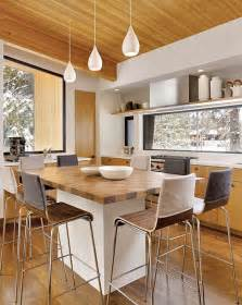 Dining Table To Kitchen Island Kitchen Island Table Combination A Practical And