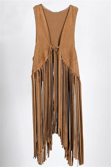 New Home Decor Trends by All About Me Suede Fringe Vest From New Orleans By All