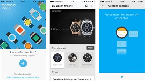 android wear app android wear f 252 r ios und iphone iphone ticker de