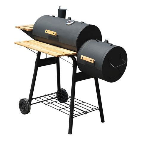 Barbecue Charcoal Grill by 48 Inch Charcoal Barbecue Grill Patio Smoker