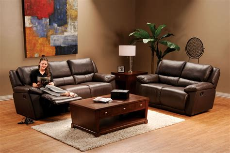 Delray Sofa by Delray Reclining Brown Leather Sofa