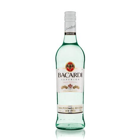 bacardi rum silver light superior