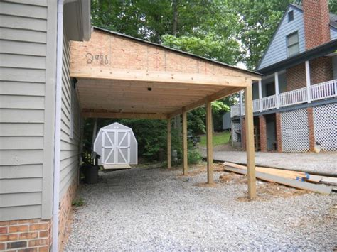 building an attached carport 17 best attached carport ideas on pinterest carport