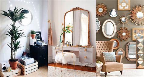 espejos decorativos  transformar tu habitacion