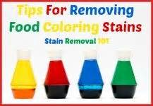 how to get food coloring out of clothes tips for removing kool aid stains