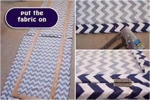 Curtain Instead Of Door Diy Room Divider Dressing Screen Chevron Fabric Project