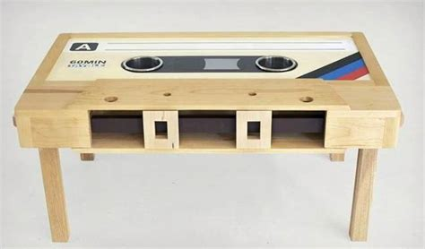 cassette coffee table for sale cassette coffee tables cool material