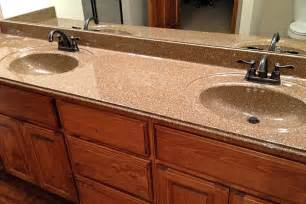 types of countertops for bathrooms