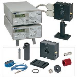 laser diode temperature controller thorlabs ltc100 b complete laser diode temperature controller set incl mount optic