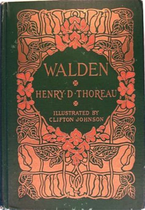 my walden book henry david thoreau david and book on