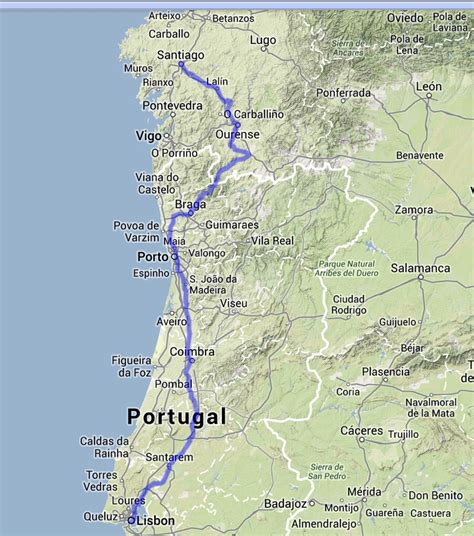 camino walk route route camino portugal walkabout