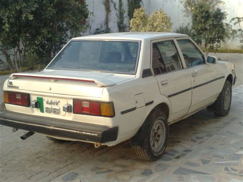 Toyota Corola 1982 Toyota Corolla Xli 1982 For Sale In Rawalpindi Pakwheels