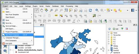qgis print layout intro to qgis make a map