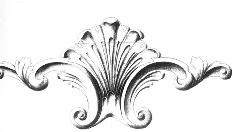 surface fragments how to draw the acanthus part iii