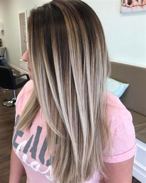 dark brown hair with blonde highlights diy 43 balayage high lights to copy today page 20 of 44