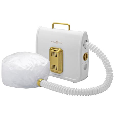 Sally Supply Portable Hair Dryer gold n professional ionic soft bonnet dryer