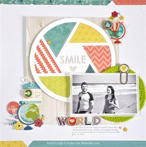 scrapbook layout maps shimelle challenge maps and globes scrapbook com a