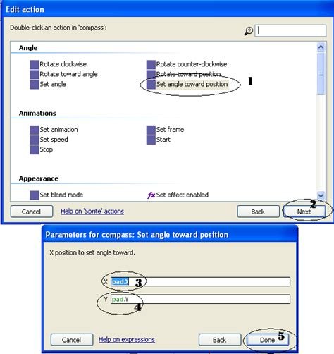 tutorial membuat game di construct 2 tutorial construct 2 membuat touchpad kursor