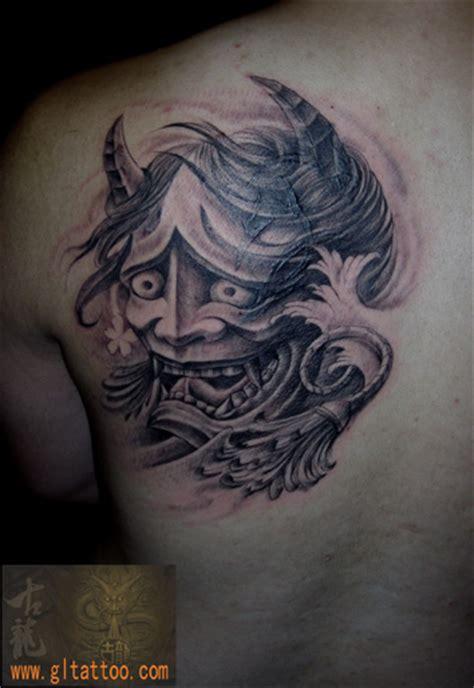 tattoo oriental demonio tatuaje hombro japoneses demonio por gl tattoo