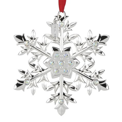 snow majesty snowflake ornament 2016 snowflake